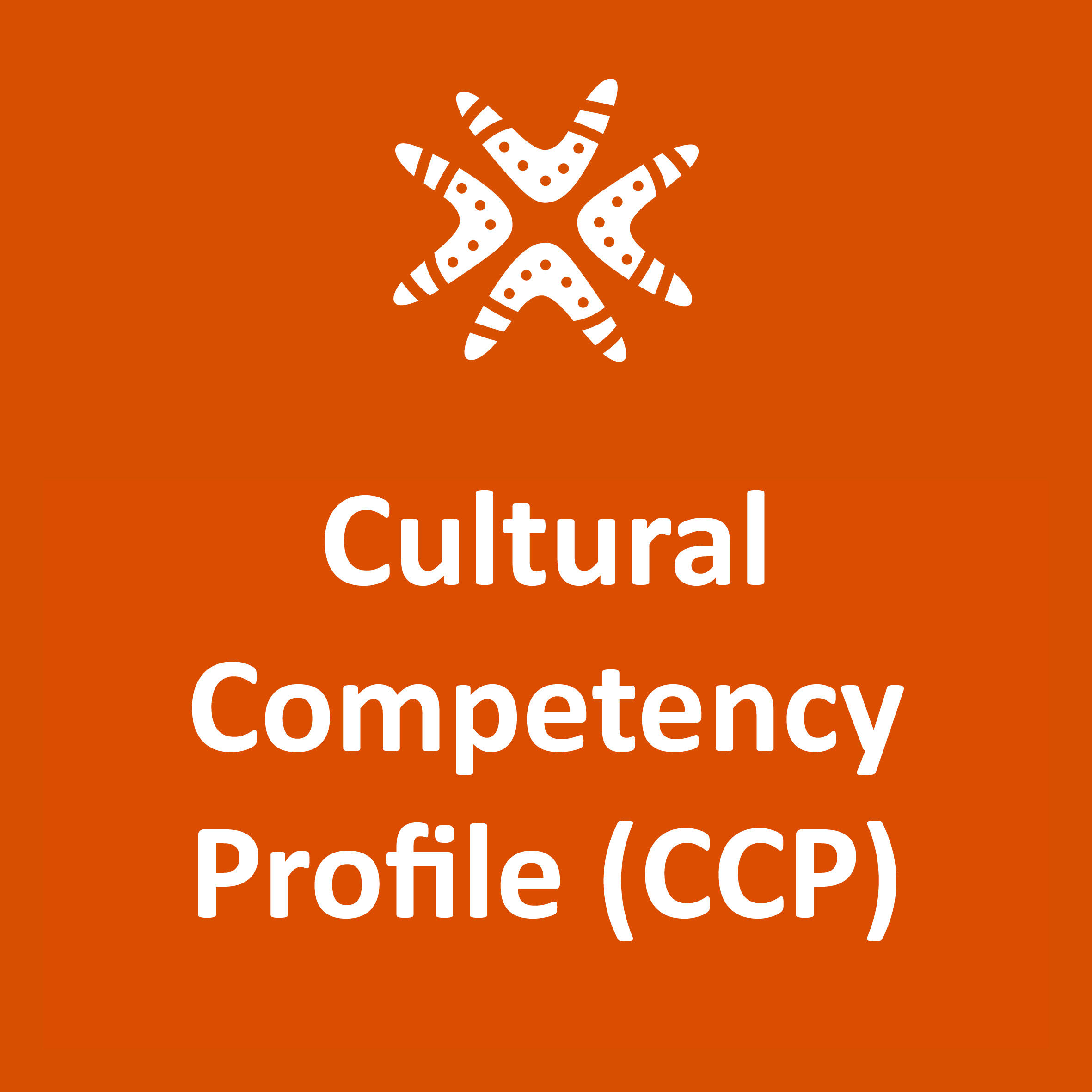 Aboriginal Mental Health Cultural Competency Profile (CCP)