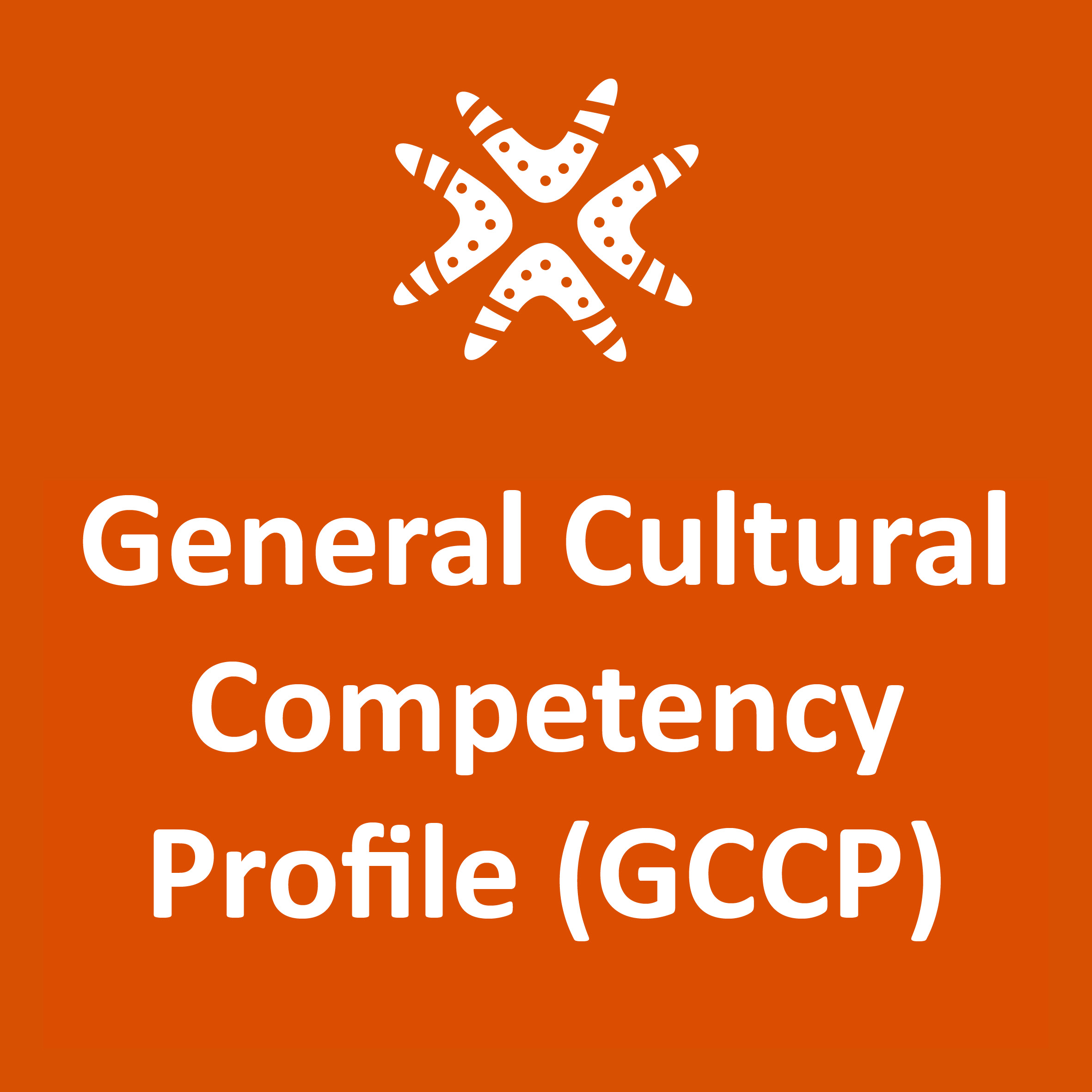 The General Cultural Competency Profile (GCCP)